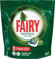 Fairy All In One Dishwasher Capsule - 84 Wash